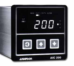 200 Micro-based 1/4 DIN Single Loop Controller - Instrumentation and Controls - Img 1 - Anderson-Negele