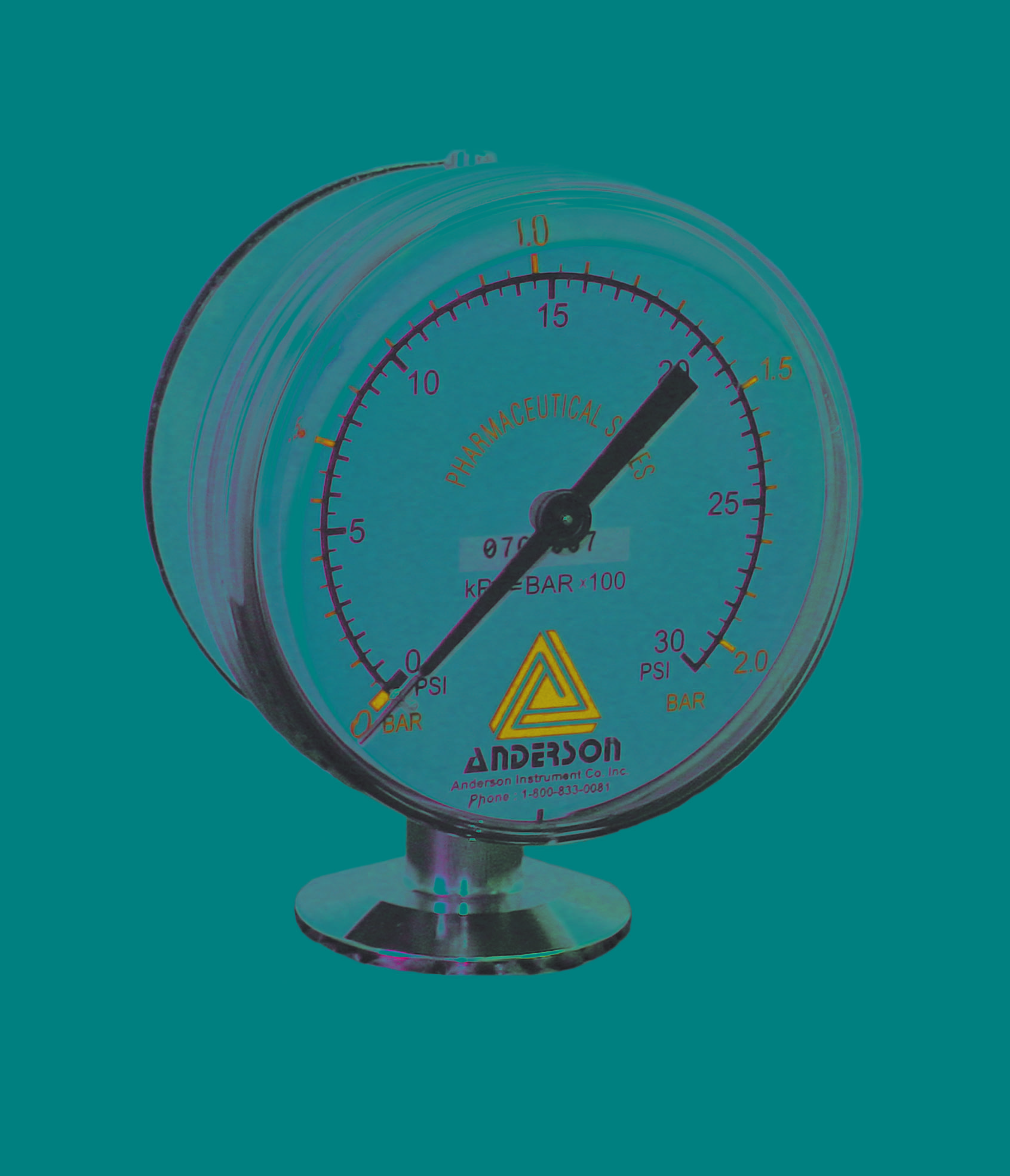EB Pressure Gauge - Array - Img 1 - Anderson-Negele