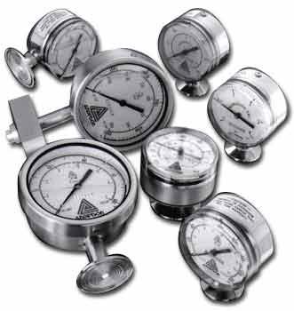 EE/EC Homogenizer / Standard Pressure Gauge (120mm) - Pressure Transmitters & Sensors - Img 1 - Anderson-Negele