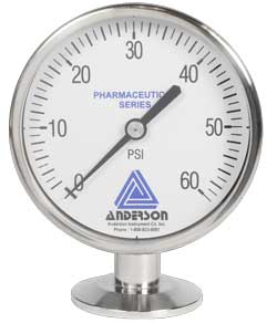 EM Life Sciences Series Pressure Gauge (90mm) - Array - Img 1 - Anderson-Negele