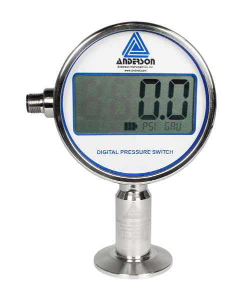 EP Life Sciences Series Digital Pressure Gauge/Switch - Pressure Transmitters & Sensors - Img 1 - Anderson-Negele