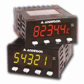 GK 1/8 DIN Panel Meters - Instrumentation & Controls - Img 1 - Anderson-Negele