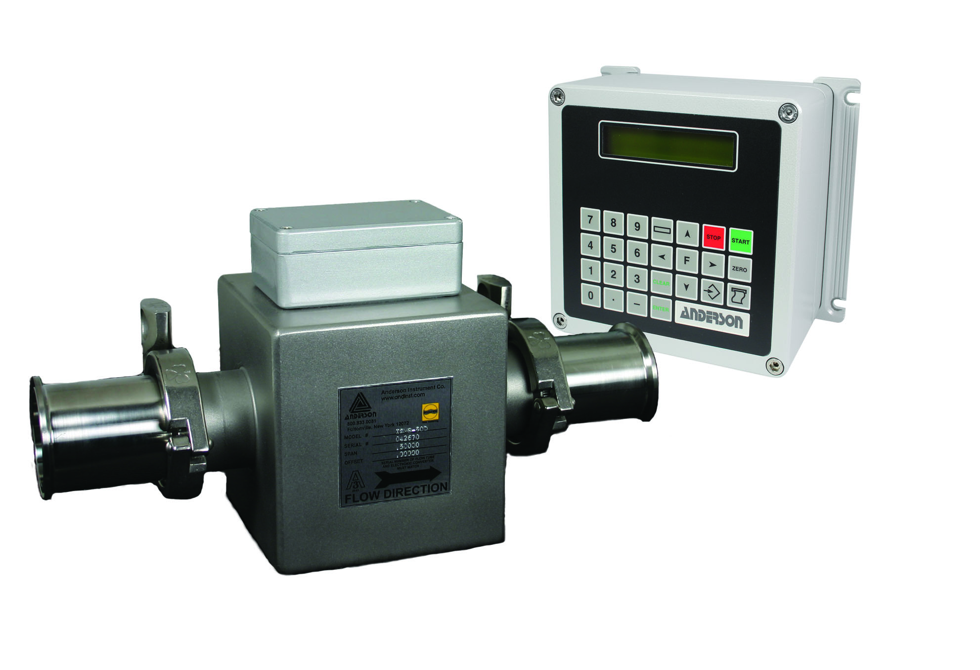 IZMS Magnetic Flowmeter - Controles de Pasteurización - Img 1 - Anderson-Negele
