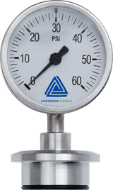 EK Pressure gauge with 63 mm display - Pressure Sensors - Img 1 - Anderson-Negele