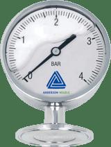 EL Pressure gauge with 90 mm display - Pressure Sensors - Img 1 - Anderson-Negele