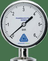 EM Pressure gauge with 90 mm display - Pressure Sensors - Img 1 - Anderson-Negele