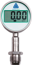MAN-90-BAT, MAN-90P-BAT Pressure gauge with 90 mm LCD display - Pressure Sensors - Img 1 - Anderson-Negele